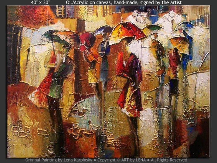 Πίνακας της Lena Karpinsky.